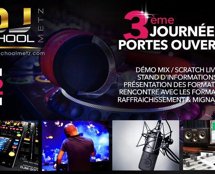 Samedi 12 Mai – Journée Portes ouvertes de la DJ School Metz