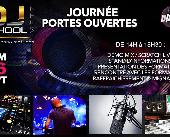 Samedi 26 Septembre – Journée Portes ouvertes de la DJ School Metz